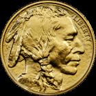 Vorderseite der American Buffalo Goldmünze 1 Unze | Vorderseite der American Buffalo Goldmünze 1 Unze