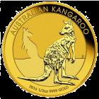 Kängurumünze 1/2 Unze Gold Australien | Rückseite der Kängurumünze 1/2 Unze Gold der Perth Mint Australia