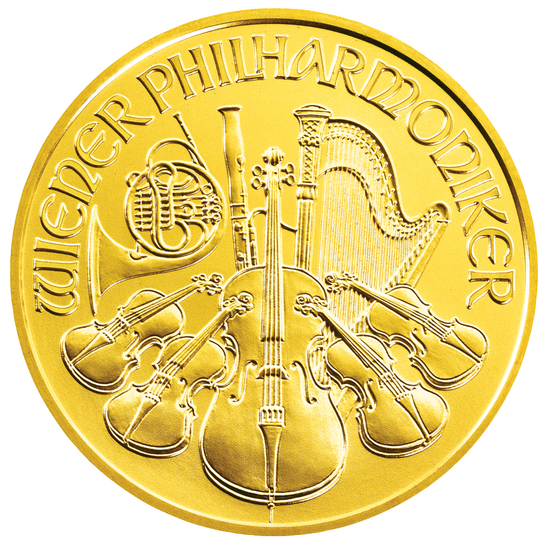 14 Unze Gold Wiener Philharmoniker14 Oz Goldmünzengoldmünzen