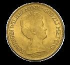 10 Gulden Goldmünze Niederlande