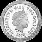1 Unze Silber Eule von Athen 2020
