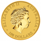 1/4 Unze Gold Australian Känguru 2014