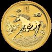 2 Unzen Gold Lunar Pferd 2014