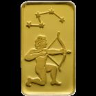 1 g Goldbarren Sternzeichen Schuetze