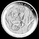 Vorderseite der 1 Unze Silbermünze Australian Koala | Vorderseite Silbermünze 1 Unze Australian Koala von The Perth Mint Australia