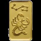 1 g Goldbarren Sternzeichen Skorpion