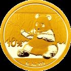 1 g Gold China Panda 2017