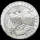 Rückseite 5 kg Silber Armenien Arche Noah | Rückseite der 5 kg Arche Noah Silbermünze Armenien