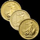 1/4 Unze Gold Britannia diverse Jahrgänge