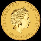 Rückseite der Kängurumünze 1 Unze Gold Australien | Rückseite der Kängurumünze 1 Unze Gold der Perth Mint Australia