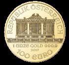 1 Unze Gold Wiener Philharmoniker diverse Jahrgänge