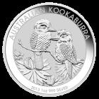 Vorderseite der 1 Unze Silbermünze Kookaburra | Vorderseite der 1 Unze Silbermünze Kookaburra von The Perth Mint Australia
