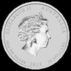 10 Unzen Silber Australien Lunar 2013 Schlange
