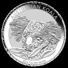 Vorderseite der 1 Unze Silbermünze Australian Koala | Vorderseite Silbermünze 1 Unze 2014 Australian Koala von The Perth Mint Australia