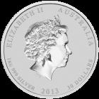 1 kg Silber Australien Lunar 2013 Schlange