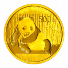 1 Unze Gold China Panda 2015