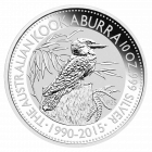 10 Unzen Silber Kookaburra 2015