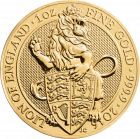 1 Unze Gold The Queen´s Beasts - Lion of England 2016