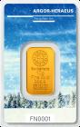 10 g Goldbarren Heraeus Following Nature 2017/18 Winter