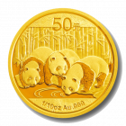 1/10 Unze Gold China Panda