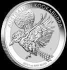 1 Unze Silber Kookaburra 2018