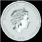 1 Unze Silber Lunar Affe 2016 Privy Mark
