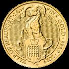 1/4 Unze Gold The Queen´s Beasts - Yale of Beaufort 2019