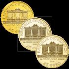 1/4 Unze Gold Wiener Philharmoniker diverse Jahrgänge