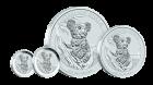 10 Unzen Silber Australian Koala 2015
