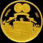 5 Euro Maria Barbara 2017 Rückseite