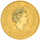 1/2 Unze Gold Australien Känguru 2020