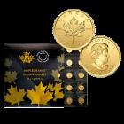 25 x 1 g Gold Maplegram Maple Leaf