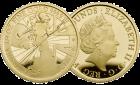 Set 3-tlg. Gold Britannia 2017 Proof-Qualität