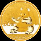 3 g Gold China Panda 2017