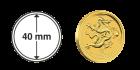 Lunar Münzkapsel 40 mm