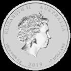 10 Unzen Silber Lunar II Schwein 2019