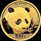 8 g Gold China Panda 2018