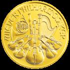 1/4 Unze Goldmünze Wiener Philharmoniker | Goldmünze 1/4 Unze Wiener Philharmoniker von Münze Österreich