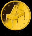 1/4 Unze Gold 50 Euro Musikinstrumente Hammerflügel 2019