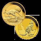 1/2 Unze Gold Australien Känguru