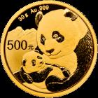 30 g Gold China Panda 2019