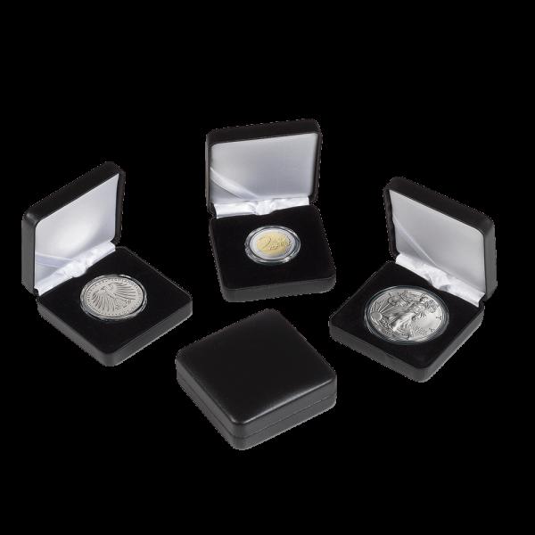 Münzetui NOBILE 44 mm passend für 1 Unze Silber Maple Leaf