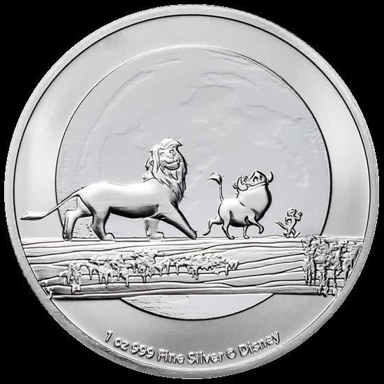 1 Unze Silber Disney Der König der Löwen Hakuna Matata 2021