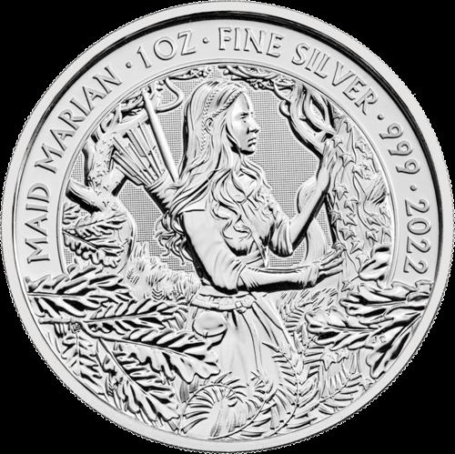1 Unze Silber Mythen und Legenden Maid Marian 2022