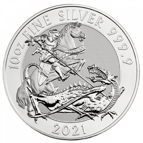 10 Unzen Silber Valiant 2021