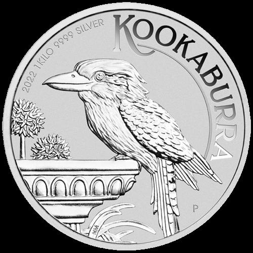 1 kg Silber Kookaburra 2022