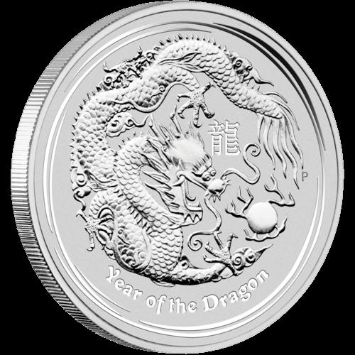 Vorderseite der 1kg Silbermünze Australien Lunar | Vorderseite Silbermünze 1 Kilogramm Australien Lunar von The Perth Mint Australia