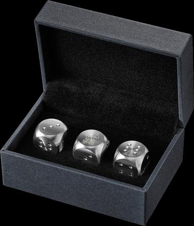 74,92 g Silber Würfelset Heimerle und Meule