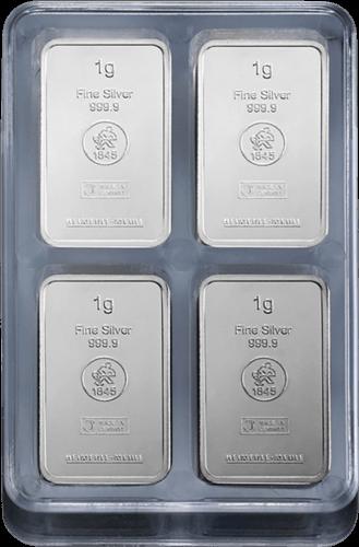 100 x 1 g Silber UnityBox Heimerle und Meule