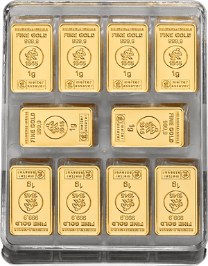 250 x 1 g Gold UnityBox L Heimerle und Meule